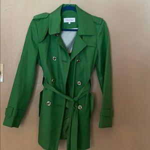 Calvin Klein Trench Coat : size M